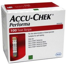 Accu-Chek Performa 300 Test Strips (3 Boxes x 100 Each) - $68.00