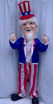 Uncle Sam Mascot Costume Adult Party Costume For Sale - $299.00