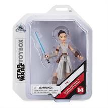 Disney Star Wars Toybox - Rey Skywalker Action Figure Includes Lightsaber - $19.79