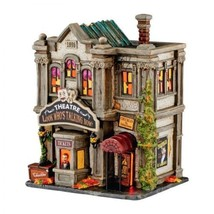 Department 56 Snow Village Halloween Look Who's Talking Now Theatre 4051... - £449.53 GBP