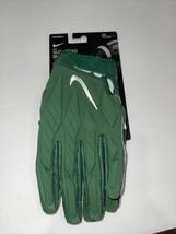 Nwt $65 Nike Men NFL New York Jets Superbad 5.0 Football Gloves Size XXL - $56.09