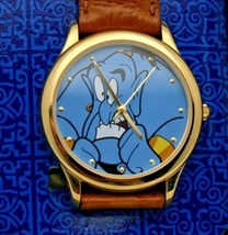 Aladdin Watch Disney Blue Dial 36mm Watch Retired New - $2.049,83 MXN