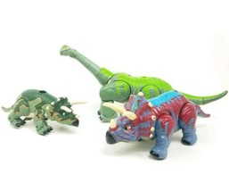 Fisher Price Mattel Imaginext Walking Roaring Styracosaurus Dinosaur Toy... - $37.09