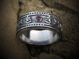 Haunted ring Solomon Hessa Hibah djinn of DESTINY OMNIPOTENT powers of M... - $160.00