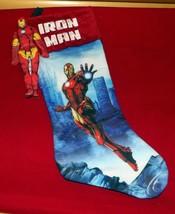 """Marvel Avengers IRON MAN Plush 17"""" Holiday Stocking w/ Matching Soft 7"""" Hero - $9.89"""