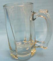 "Anchor Hocking Beer Mug Stein Crystal Clear Heavyweight 6"" Tall - $24.95"