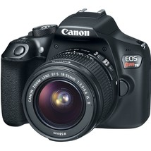 Canon 1159C008 EOS Rebel T6 Digital SLR Camera Kit with EF-S 18-55mm and... - $489.82