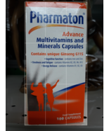 Pharmaton Advance Multivitamins and Minerals with unique Ginseng 90 Caps... - $158.95