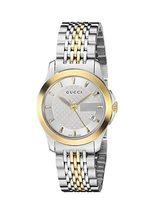 Gucci YA126511 Silver Dial Stainless Steel Strap Ladies Watch - $836.99
