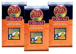 HEB Cafe Ole Taste of Texas Whole Bean Coffee 12oz Bag (Pack of 3) (Taste of Aus - $45.98