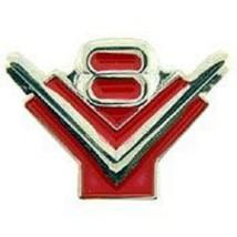 V8 LOGO Automobile Emblem Symbol V8 Car Pin - $7.91