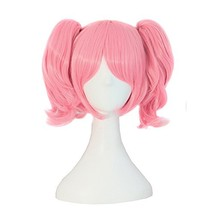 MapofBeauty Lolita Sweet and Lovely Straight Anime Cosplay Wig Pink - $22.28