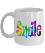 Make My Day Happy with a Smile Coffee Mugs - $15.99