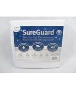 "SureGuard White King Size Box Spring Encasement Block Bed Bugs Fits 8""-1... - $44.54"