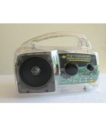 Freeplay SOLAR or Hand Crank Energy Clear Case Emergency Camp Radio TESTED - $39.99