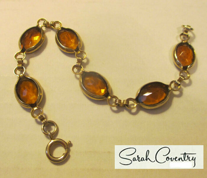 Vintage Sarah Coventry  Jewelry - #9983  Harmony Bracelet
