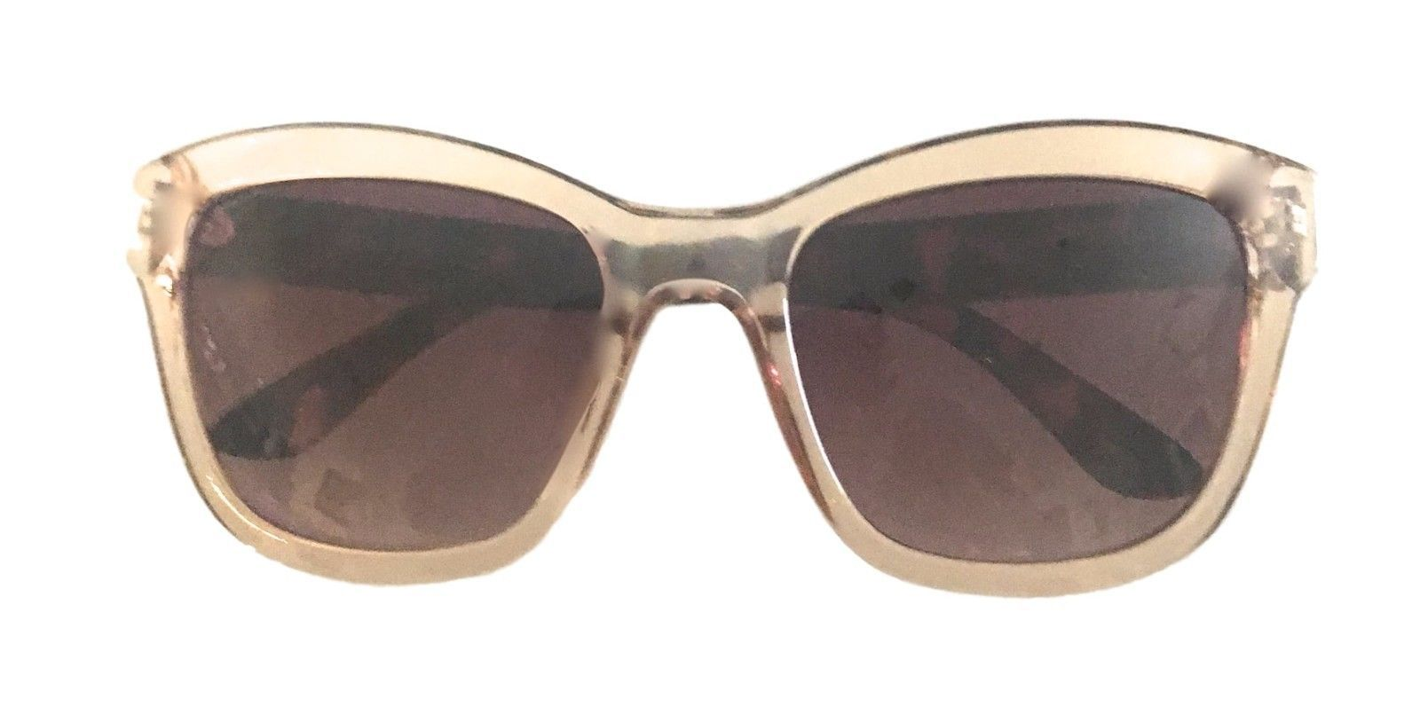 e7ed024124 Kenneth Cole Reaction Mens Soft Square Crystal Brown Sunglass KC1303 45F