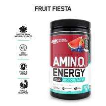 Optimum Nutrition On Amino Energy + Uc-Ii Collagen, Fruit Fiesta, 30 Servings - $123.45
