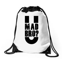U Mad Bro Drawstring Bags - $31.00