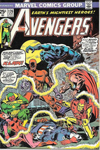 The Avengers Comic Book #126, Marvel Comics Group 1974 NEAR MINT - $43.46