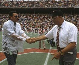 Joe Paterno Woody Hayes EOS Vintage 8X10 Color College Football Memorabilia Phot - $6.99