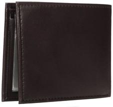 Tommy Hilfiger Men's Premium Leather Credit Card ID Passcase Billfold Wallet image 10