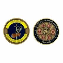 MARINE CORPS  MCAS -1 YUMA NCO STAFF FALCONERS SQUADRON CHALLENGE COIN  - $18.04