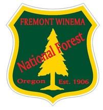 Fremont Winema National Forest Sticker R3236 Oregon YOU CHOOSE SIZE - $1.45+