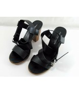 Christian Siriano for Payless Black Strappy Sandal Size 9 1/2 - $8.90