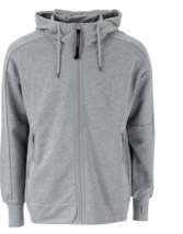 C.P.Company Men's Diagonal Fleece Goggle Hoody NEW AUTHENTIC Grey 08CMSS... - $159.99