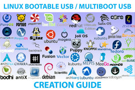 Linux Bootable USB / Multi Boot USB Step By Step Creation Guide - $4.99