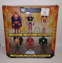 DC Universe Justice League Unlimited Exclusive Action Figure 6Pack Justice - $68.67