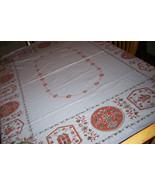 Pennsylvania Dutch vintage Tablecloth - $23.00