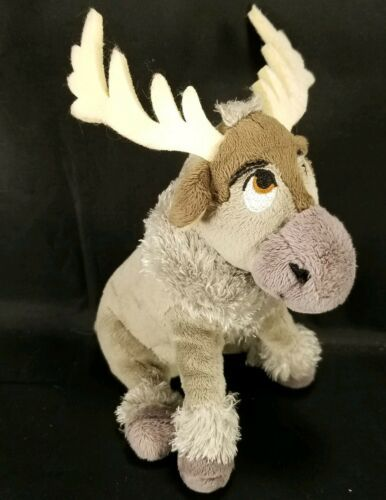 "Disney Plush Frozen Sven Reindeer Moose stuffed animal 7"" Ty Sparkle image 1"