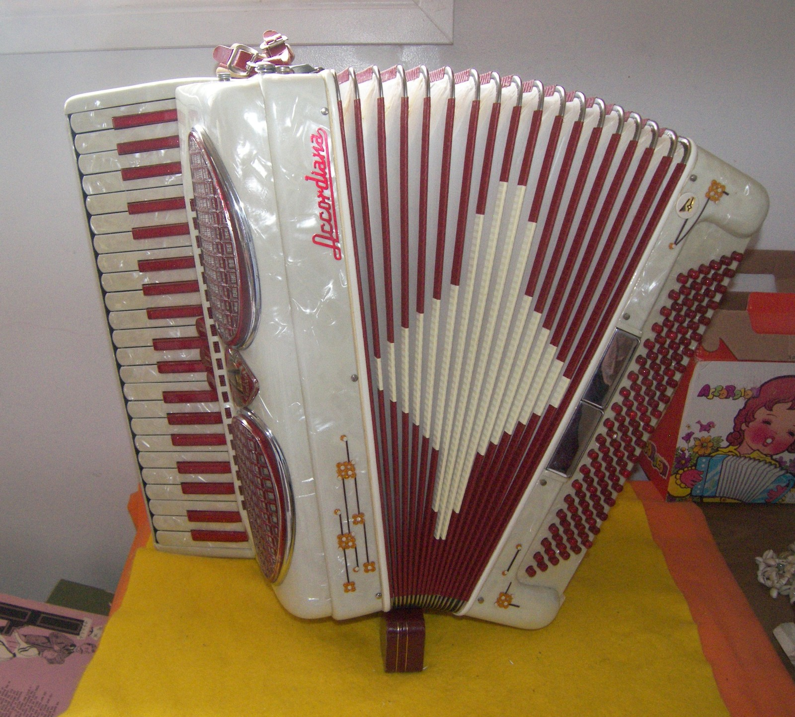 Primary image for 120 Bass Size Accordiana  By Excelsior Accordion