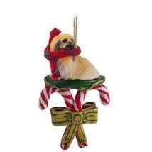 Conversation Concepts Pekingese Candy Cane Ornament - $13.99