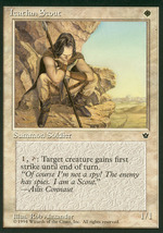 Magic: The Gathering: Fallen Empires - Icathian Scout (D) - $0.25