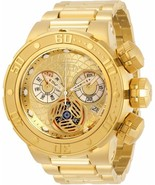 BRAND NEW INVICTA 31506 SUBAQUA GOLD STAINLESS STEEL CHRONOGRAPH MEN'S W... - £193.40 GBP