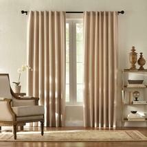 "NEW 2 Pack Textured Room Darkening Window Panels in Taupe 42"" x 84"" - $28.50"