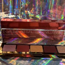 Natasha Denona Cranberry Palette 5 Pan Pinks Reds Burgundy NEW IN BOX Stunning image 2