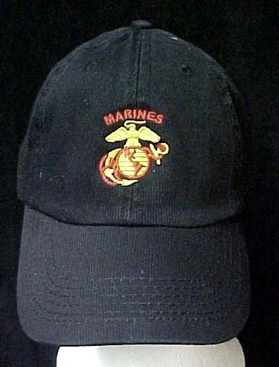 4b66a0edabf S l1600. S l1600. Previous. US Marine Corps Anchor Eagle Globe Black  Baseball Cap Hat Women s Corps New