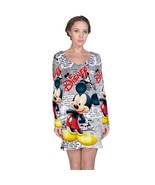 Mickey Mouse Disney   Long Sleeve Nightdress - $19.99+