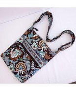 Vera Bradley 2006 Retired Java Blue Crossbody Hipster Quilted Shoulder P... - $24.09