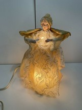 """12"""" Beautiful Expressions Animated Light Up Soft Glo Angel Tree Topper w... - $48.46"""