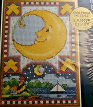 Bucilla 42014 Celestial Dream Moon Joan Elliott Counted Cross Stitch 5x7 - $27.21