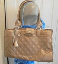 Liz Claiborne Large Shoulder Handbag NWT Tan Bronze - $8.99