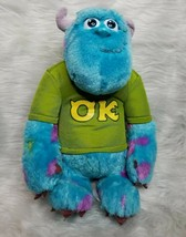 """Disney Monsters Inc University 12"""" Sulley Talking My Scare Pal Plush WORKS - $6.93"""
