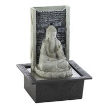 Buddha Cascading Tabletop Fountain - $59.34