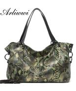 Arliwwi Designer Women Large Capacity Real Leather Shoulder Bags. New Se... - $89.99+