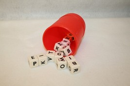 Milton Bradley Hasbro Jitters Word Game Replacement Shaker Cup and Dice - $9.95